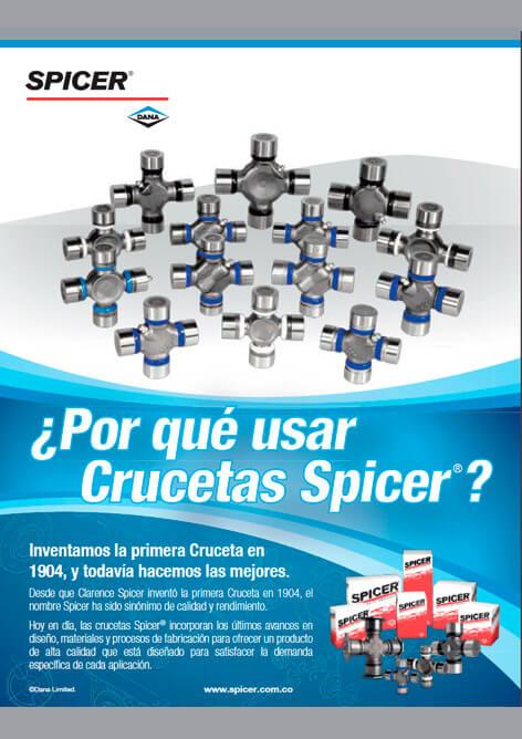 Catálogo Crucetas Spicer®
