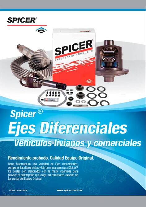 Catálogo Eje diferencial Spicer®