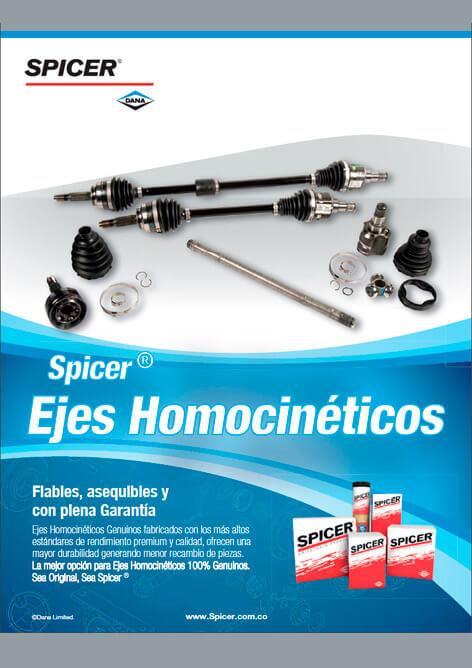 Catálogo Ejes Homocinéticos Transejes®