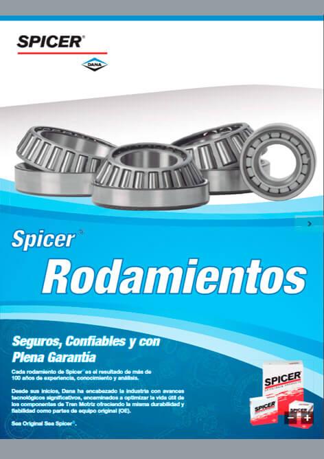Catálogo Rodamientos Spicer®